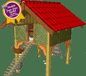 Poulailler des Landes de Gascogne