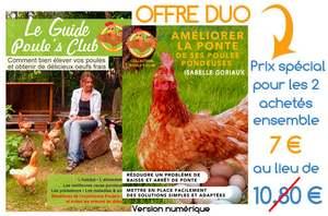 Profitez de notre offre duo for Top 10 des poules pondeuses