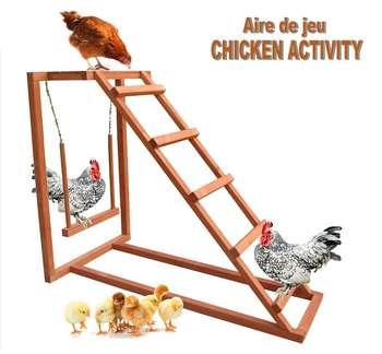 Parc activité poules