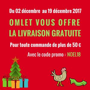 Livraison gratuite Omlet