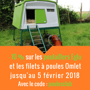 Promotion poulaillers et filets Omlet