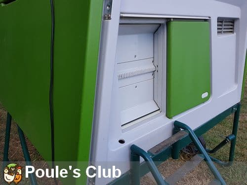 Porte automatique poulailler ultra s curis e omlet - Porte automatique pour poulailler allemagne ...