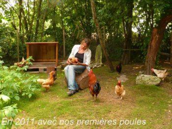 Isabelle Goriaux - Histoire premières poules