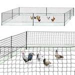 Filet à poules idéal pour agrandir l'espace des poules